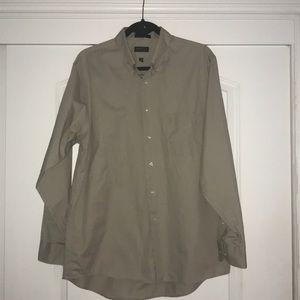 Long Sleeve Collared Dress Shirt
